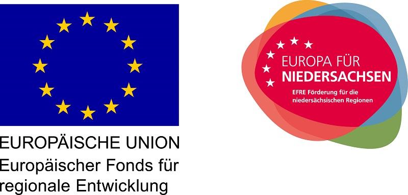 Einer unsere neu geschaffenen Arbeitsplätze wird mit Mitteln der EU gefördert.